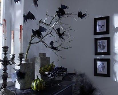 Fledermäusedekoration für Halloween