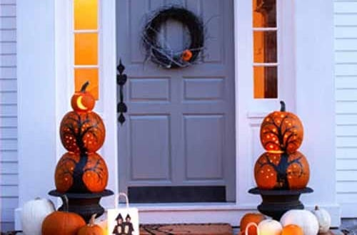 Halloween Aussendekoration