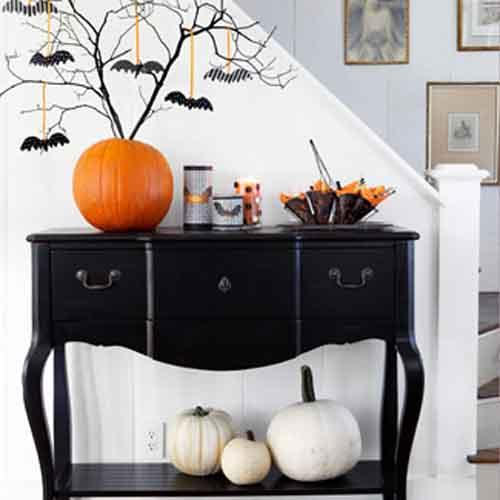 Halloween Dekoration für das Wohnzimmer - fresHouse