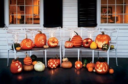 Halloween Kürbis-Dekorationsideen