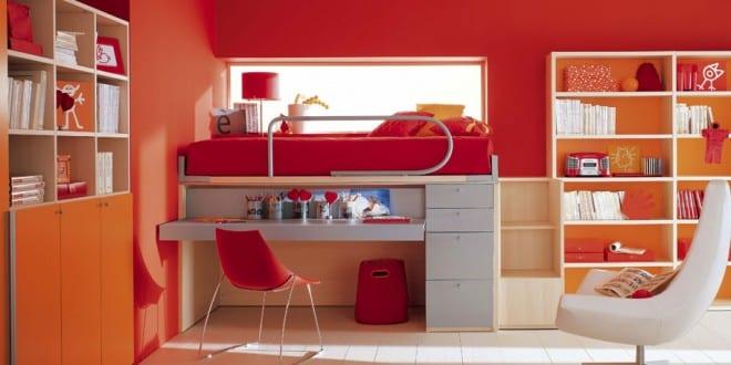 kinderzimmer einrichtung mit hochbett freshouse. Black Bedroom Furniture Sets. Home Design Ideas