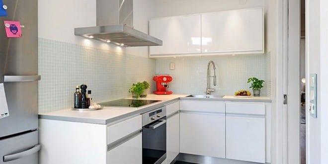 Kleine Küche für Small Wohnung