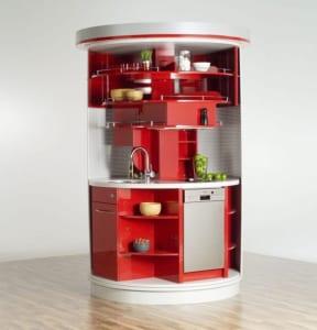 Kleine runde Küche 1
