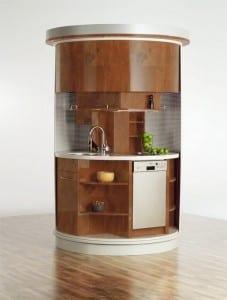 Kleine runde Küche 2
