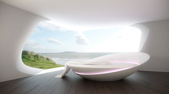 9 Ideen für Rundbett im Schlafzimmer - fresHouse