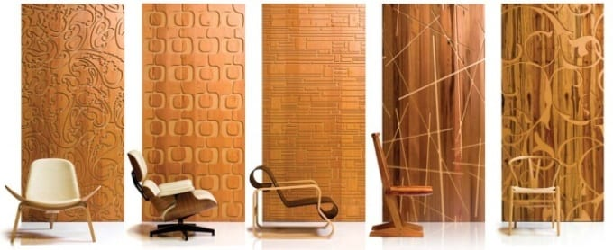 mdf 3d wandpaneele freshouse. Black Bedroom Furniture Sets. Home Design Ideas