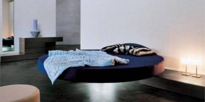 Schwimm Schwarz Runde Schlafzimmer Betten Rahmen