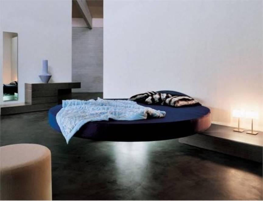 Beautiful Runde Schlafzimmer Betten #9: Schwimm Schwarz Runde Schlafzimmer Betten Rahmen