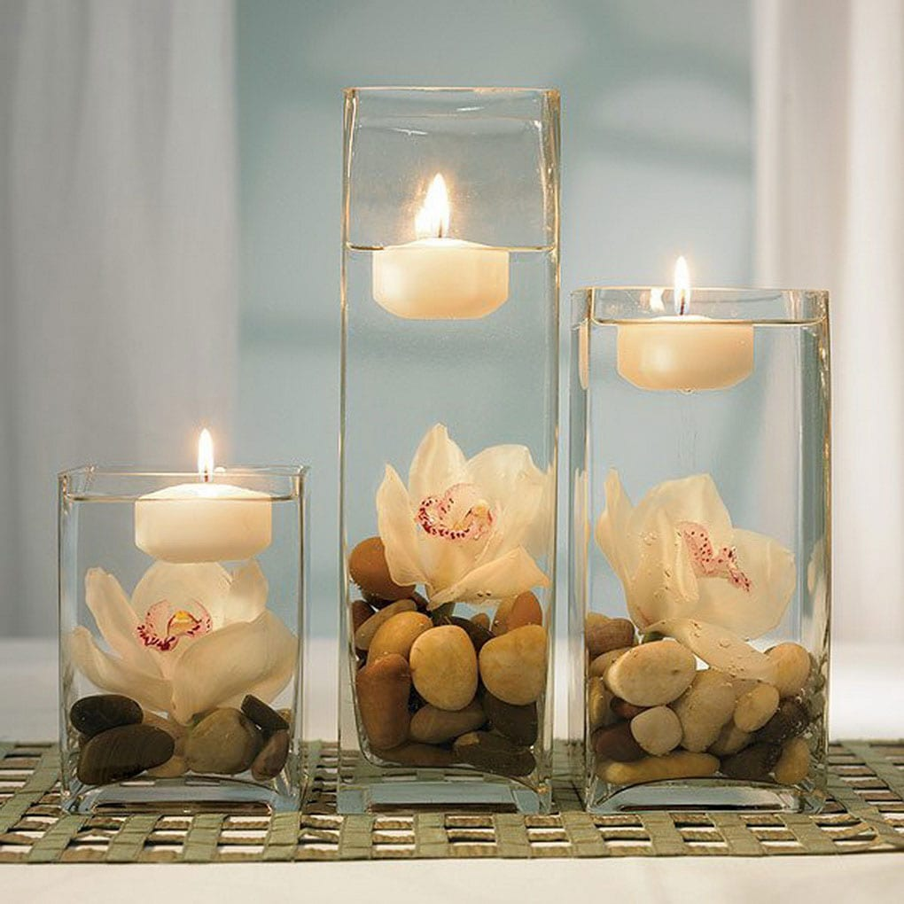 Table Decoration Ideas Dining Room Candle Light