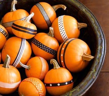 Tisch dekoration für Halloween