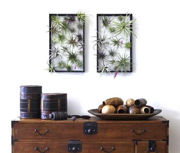 Wanddekoration Mit Blumen Freshouse