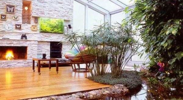 Wassergarten im Wohnzimmer