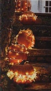 beleuchtete Halloween Dekoration