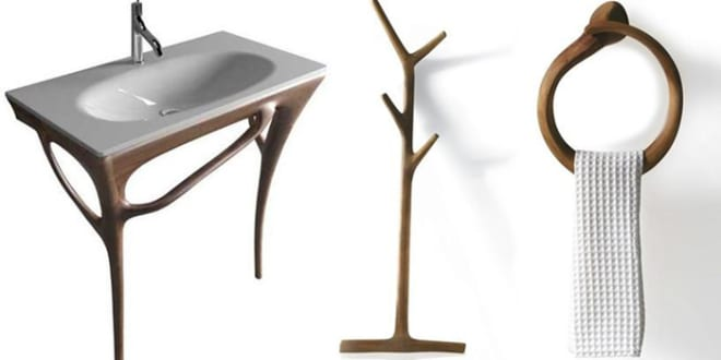 design möbel aus Holz fürs Badezimmer - fresHouse