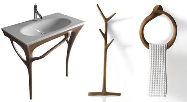 Design möbel holz  design möbel aus Holz fürs Badezimmer - fresHouse