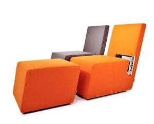 designer Sessel für Bücher