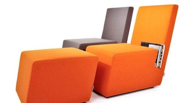 designer sessel f r b cher freshouse. Black Bedroom Furniture Sets. Home Design Ideas