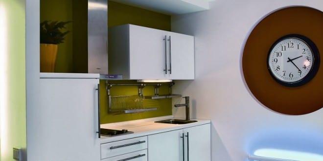 erstaunlich, sehr kleine Küche