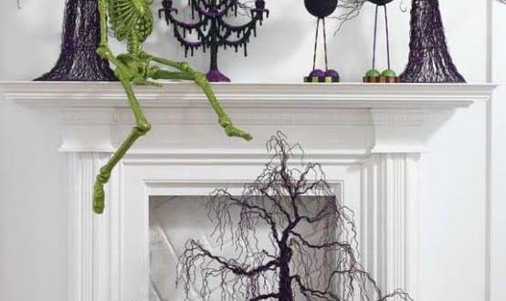 farbige halloween Dekoration
