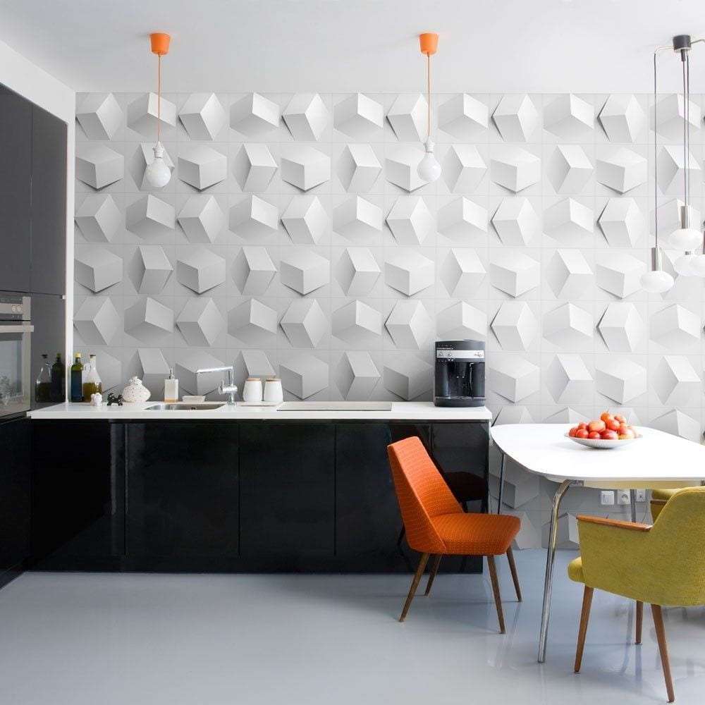 interior-spectacular-3d-textured-wall-panel-design-idea-in-white-for ...