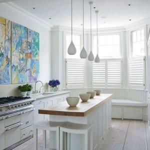 kleine Küche in weiß 2