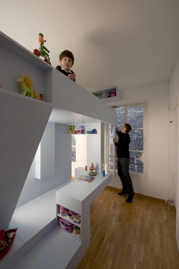 Minimalistische einrichtung fuer kinderzimmer freshouse for Einrichtung kinderzimmer