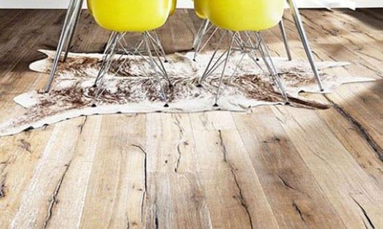 15 Ideen für rustikalen Ziegel- und Holzboden