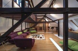 minimalistischer Loft