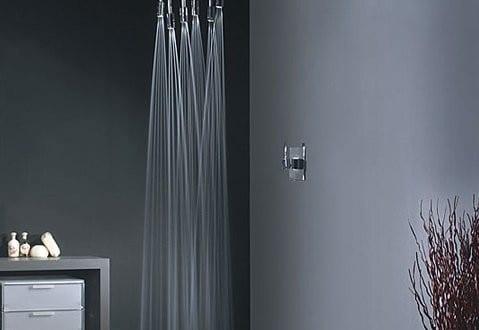 moderne Duscheeinrichtung