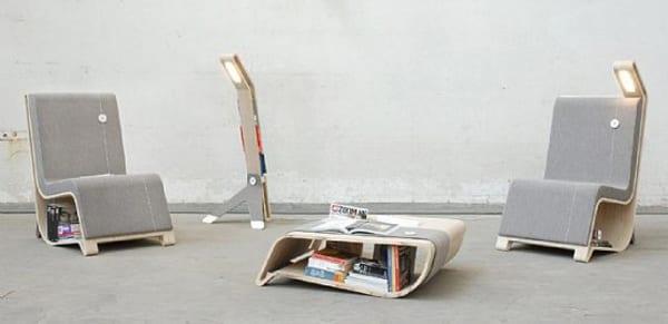 moderne Lesemöbel