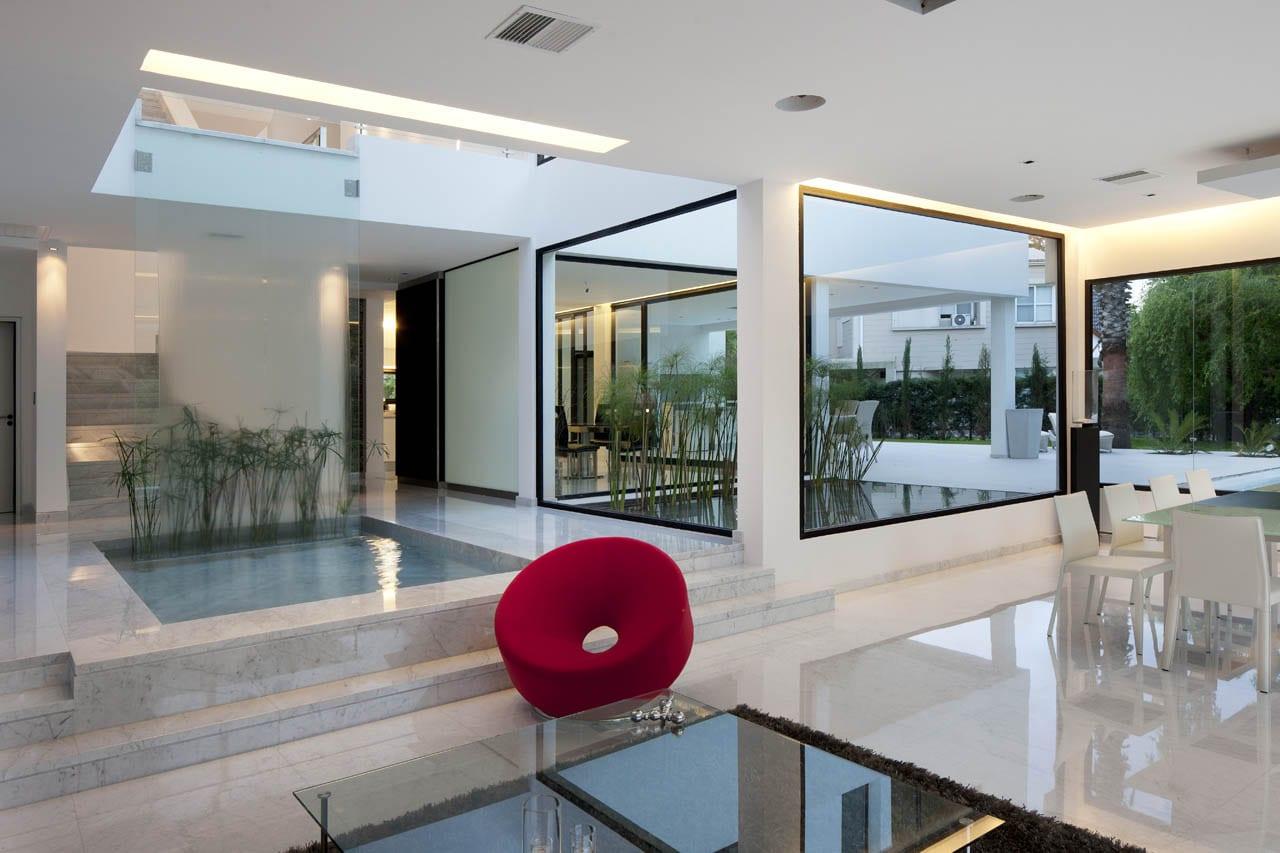 Superb Moderne Wohneinrichtung Mit Wasser Design Ideas