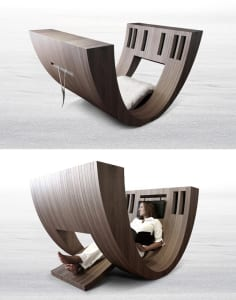 moderne funktionale Lesemöbel