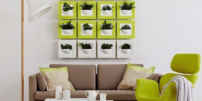 Frische wanddekoration mit pflanzen freshouse for Wanddekoration babyzimmer