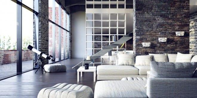 modernes Loft Design