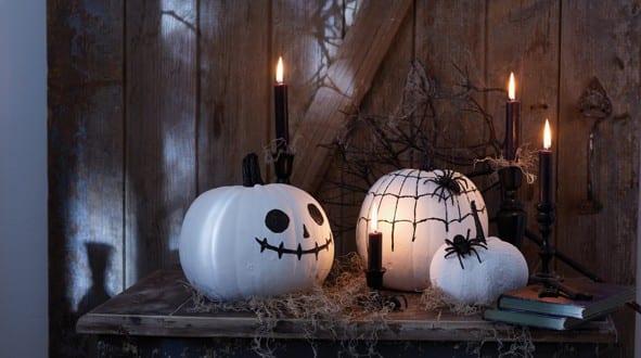 selbstgemachte Halloween Dekoration