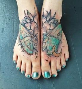 2-fuß tattoo idee