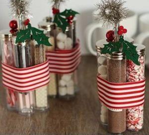 DIY weihnachtsgeschenk-Süßißkeit Kolben