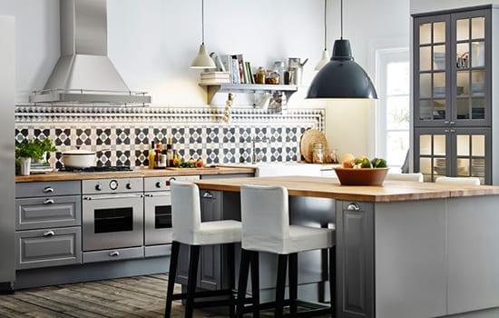 Graue Ikea Küche   Ikea Kuche Idee Freshouse