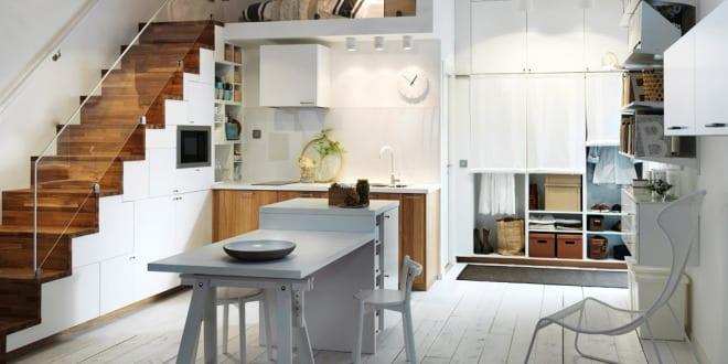Ikea Küche-kleine küche einrichtung - fresHouse