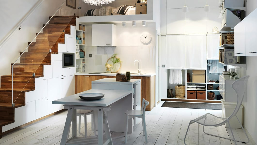 Ikea Küche Kleine Küche Einrichtung