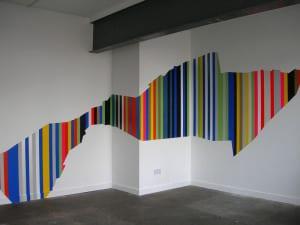 paint stripes on walls, wall stripes, wall