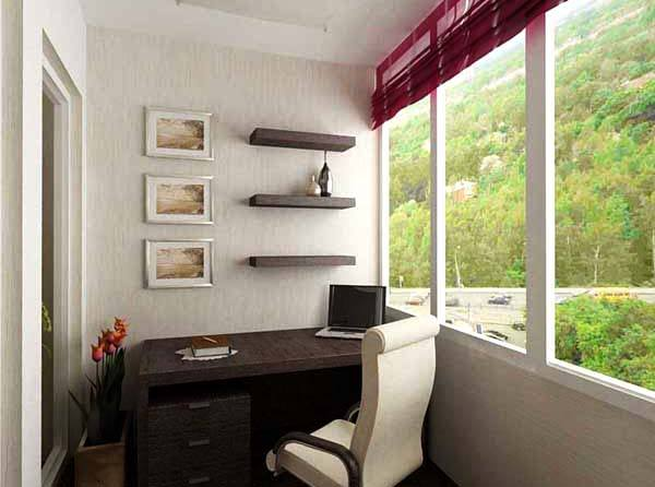 Arbeitszimmer gestaltungsideen  balkon ideen- arbeitszimmer - fresHouse
