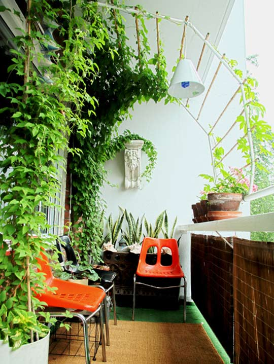 balkon ideen garten auf dem balkon freshouse. Black Bedroom Furniture Sets. Home Design Ideas