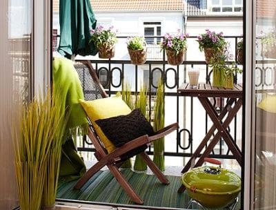 Balkon Ideen – interessante Einrichtungsideen kleiner Balkons