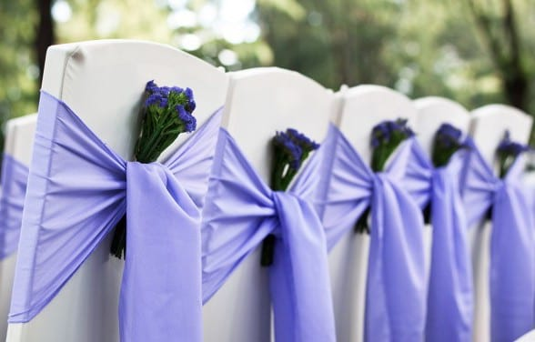 Blumen Hochzeit Deko Fur Stuhle Freshouse