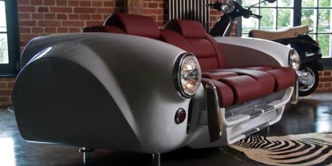 Carm Bel Kreatives Und Modernes M Beldesign Aus Autoteilen FresHouse. Möbel  Aus Autoteilen
