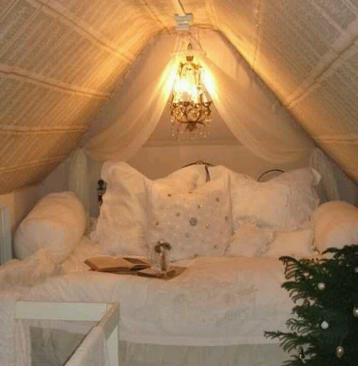 Doppelbett Im Dachraum Kleines Schlafzimmer Einrichten Freshouse