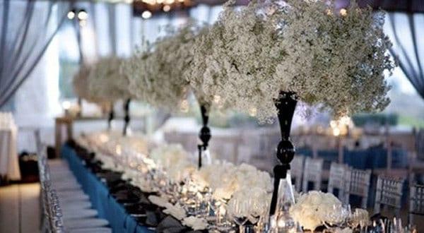 Elegante Blumen Hochzeit Deko Freshouse