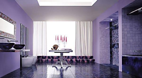 farbrausch sch ner wohnen badezimmer einrichtungsidee. Black Bedroom Furniture Sets. Home Design Ideas
