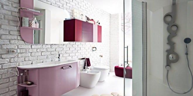 farbrausch schöner wohnen-badezimmer in pink - fresHouse